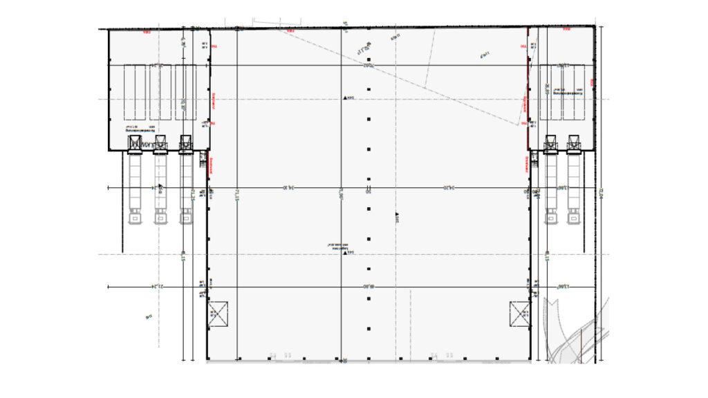 Plan Neubau Hallenerweiterung